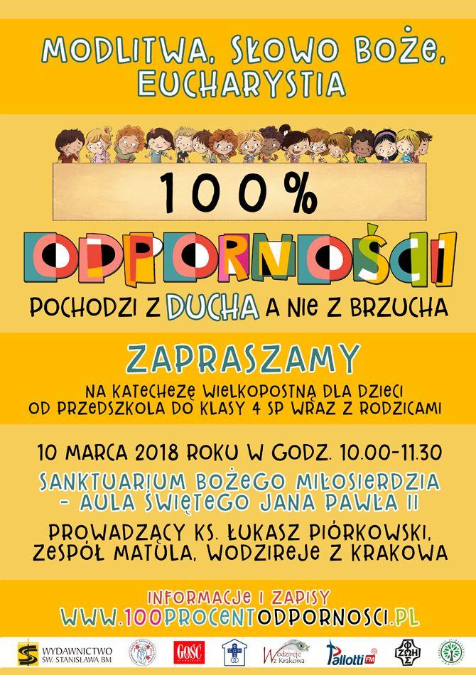 Katecheza Wielkopostna dla Dzieci – 100% ODPORNOŚCI!